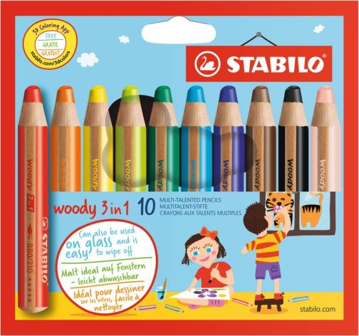 Farbstift Stabilo-Woody