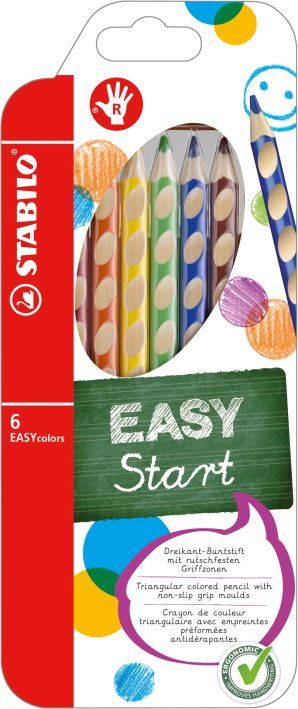 Farbstift Easycolors 6er-