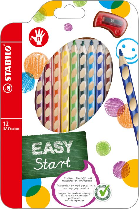 Farbstift Easycolors 12er