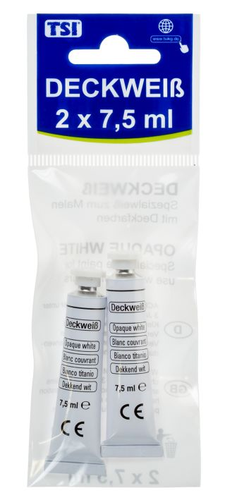 Deckweiss 2x 7,5ml