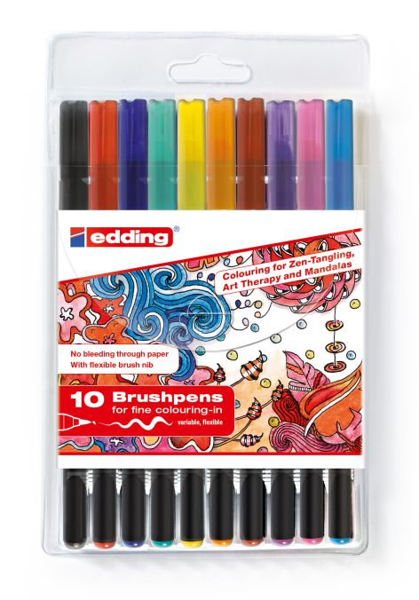 Tangle Brushpen Set Ass