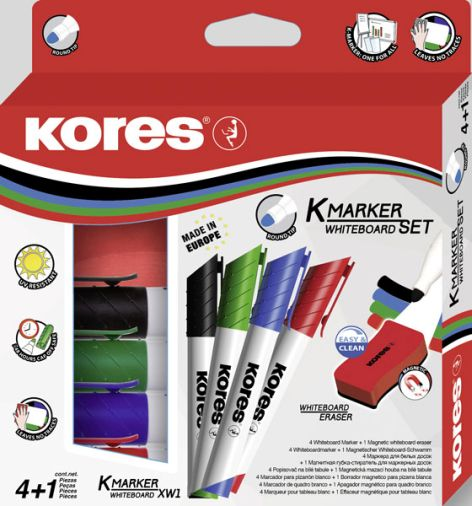 Whiteboard Marker 5er Set