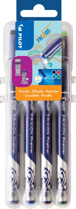 Fineliner Frixion 4er-Set