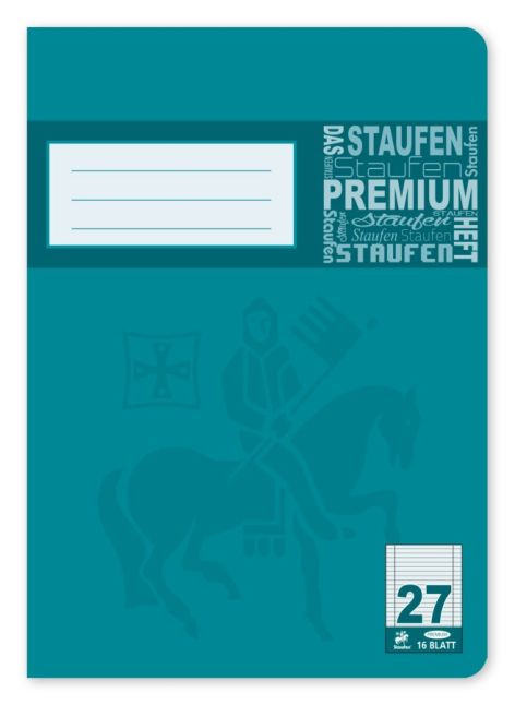 Premium Notenheft A5-16
