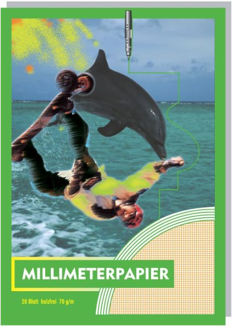 Millimeterpapier-Block