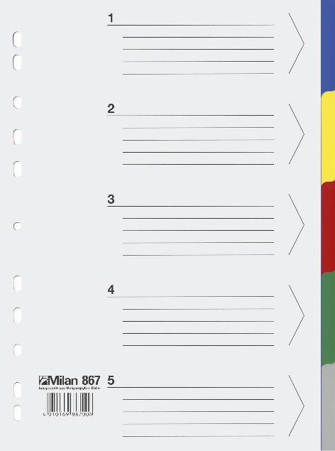 Milan Ringbuch Register