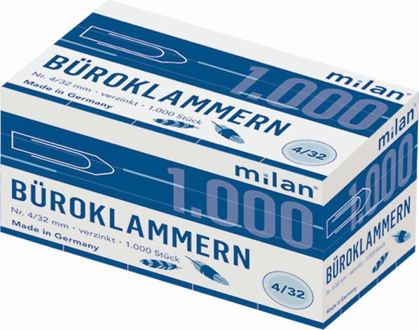 Briefklammer Milan 32mm
