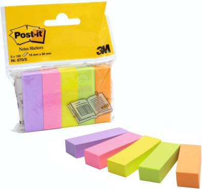 Haftstreifen Post-it Inde