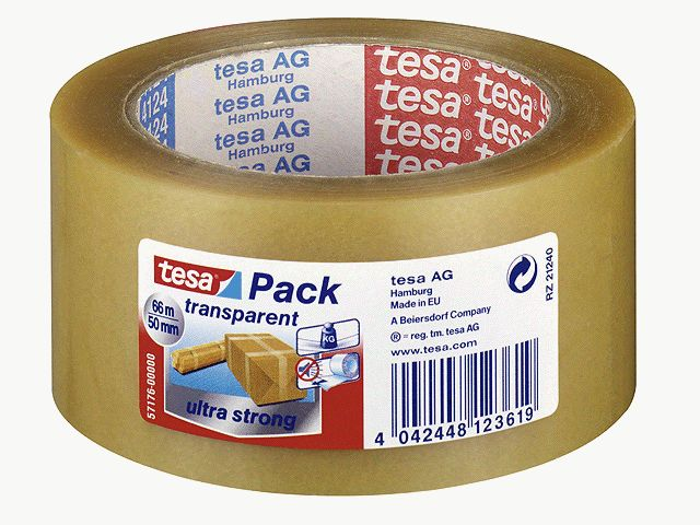 Tesa Packband transparent