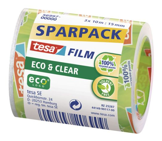 Tesafilm Eco + Clear