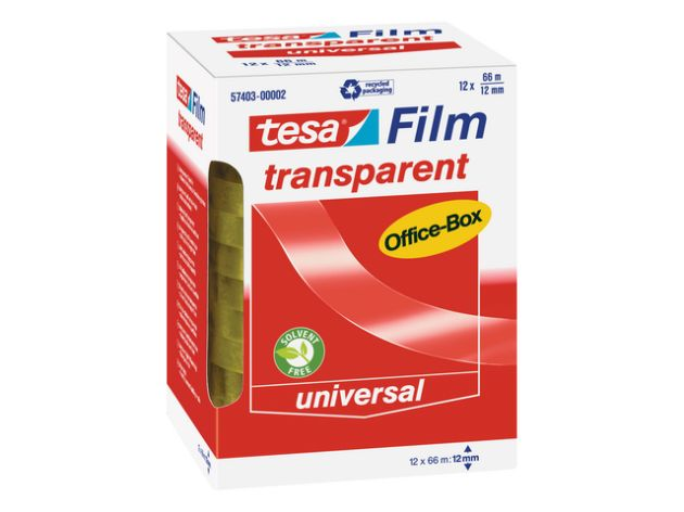 Tesa-Transparent 66mx12mm