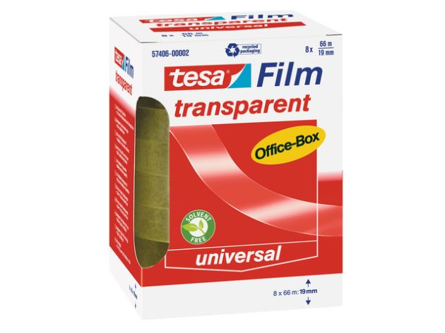 Tesa-Transparent 66mx19mm