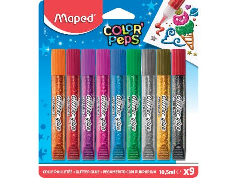 Glitzerkleber Color Peps