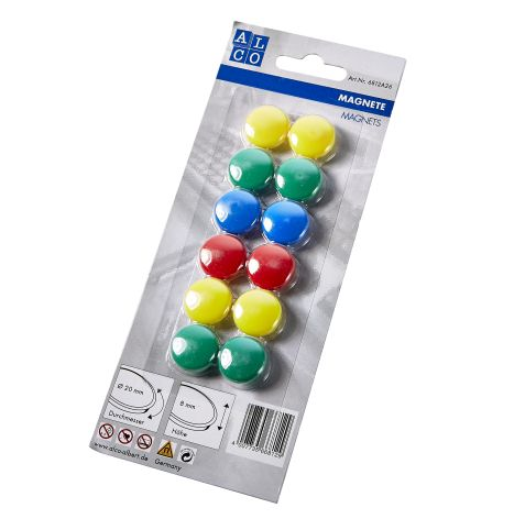 Magnet 20mm 12er Pack