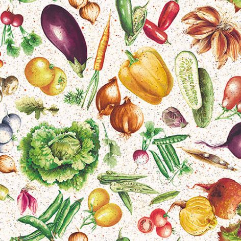 Serviette Vegetables