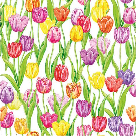 Serviette Magic Tulips