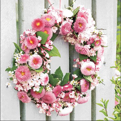 Serviette Wreath of
