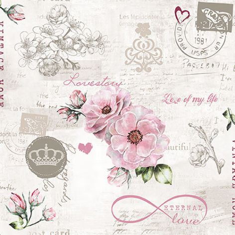 Serviette Eternal Love
