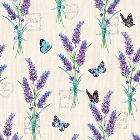 Serviette Lavender With