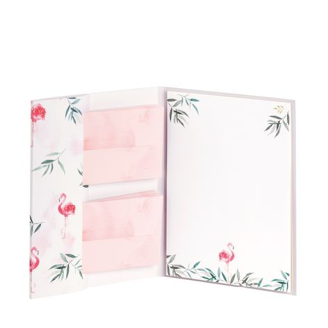 Briefpapierpack Flamingo