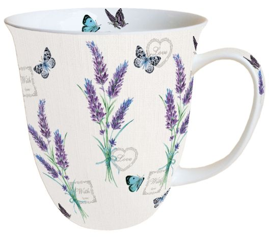 Tasse Lavender With Love
