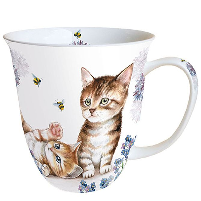 Tasse Cats And Bees