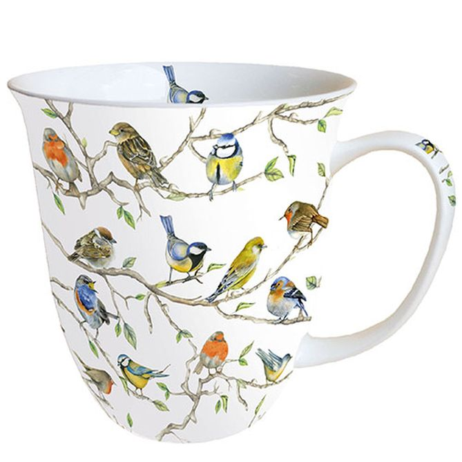 Tasse Birds Meeting