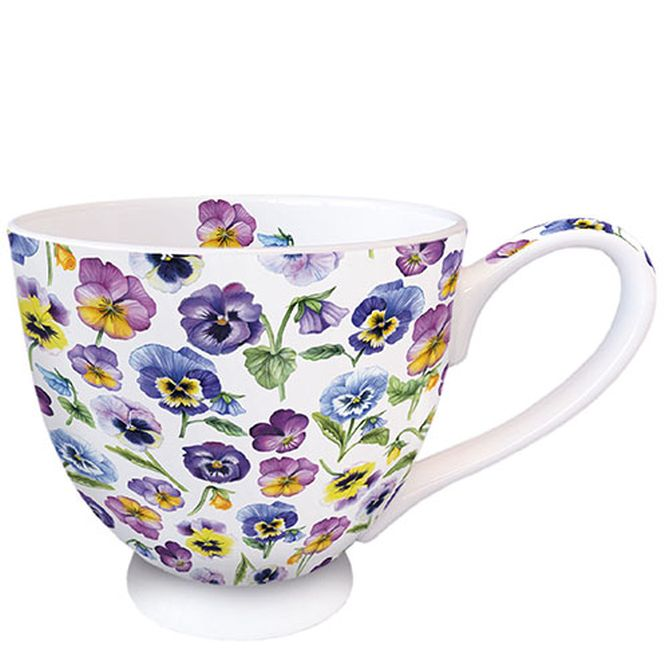 Tasse Pansy All Over