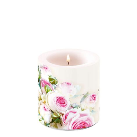 Candle Small Maxima Cream