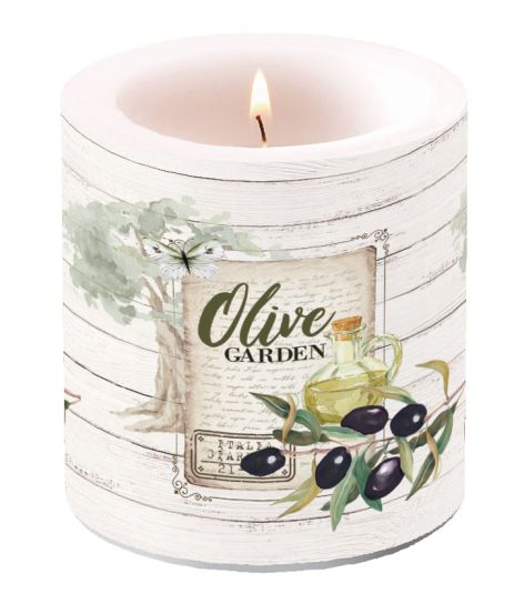 Candle Small Olive Garden
