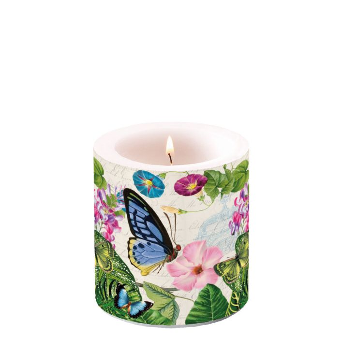 Candle Small Romantic Pur