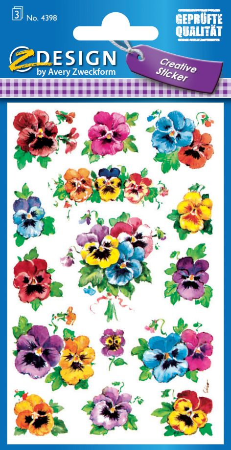 Sticker Creative Flower