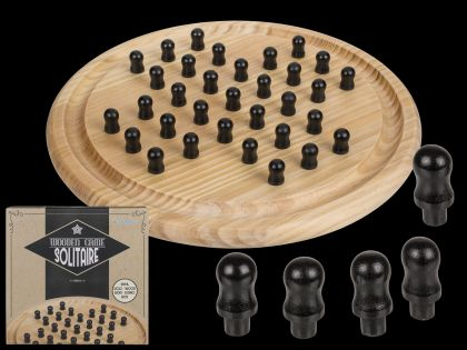 Holz Brettspiel Solitaire