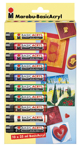 Marabu Basic Acryl Set