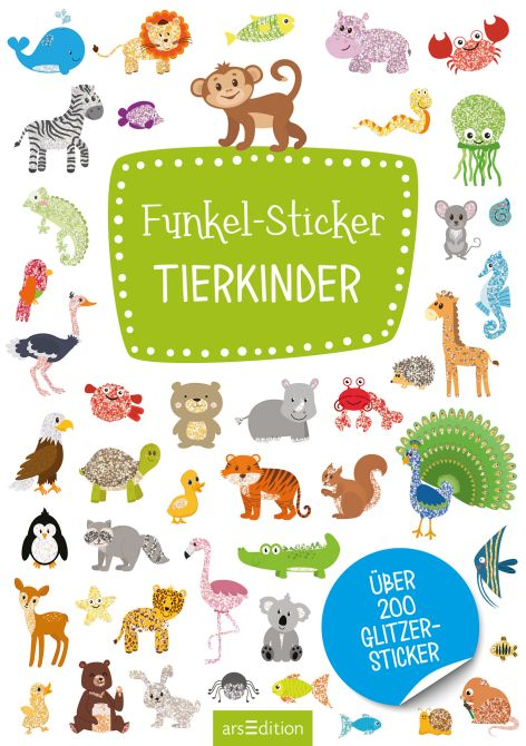 Stickerbuch Tierkinder