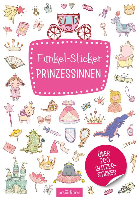 Stickerbuch Prinzessinnen