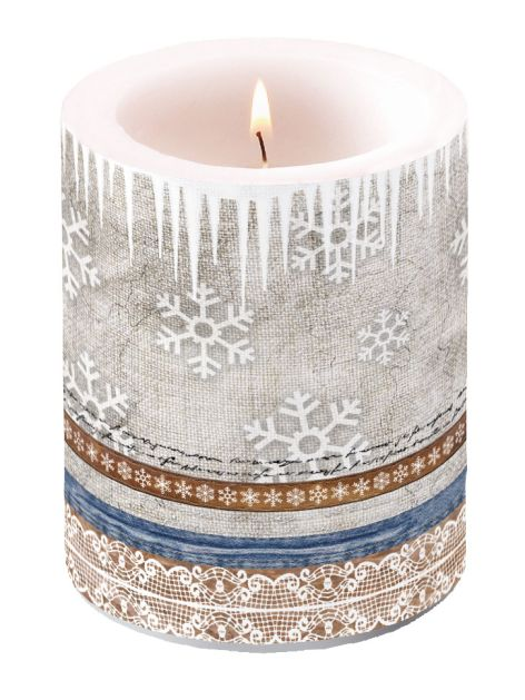 Candle Big X-Mas Fabric
