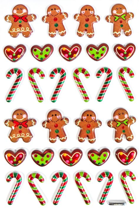Sticker Gingerbread